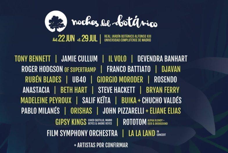 Noches del botánico 2017 - Un buen día en Madrid