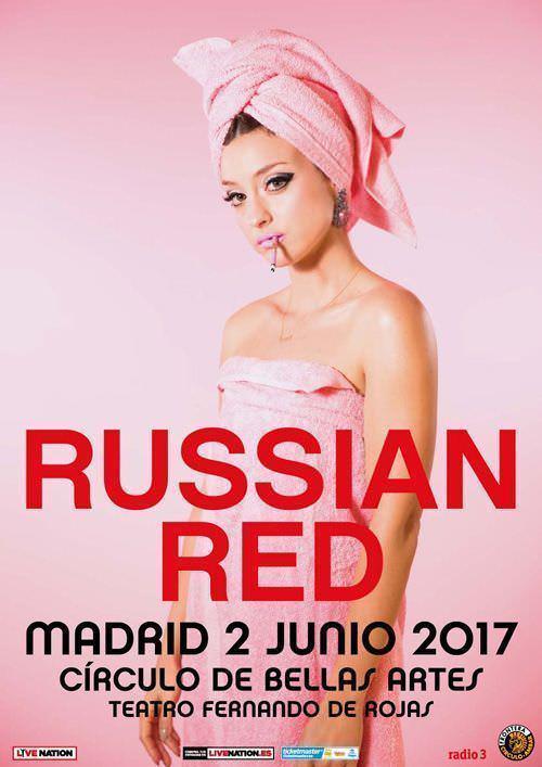 Russian Red en concierto - Un buen día en Madrid