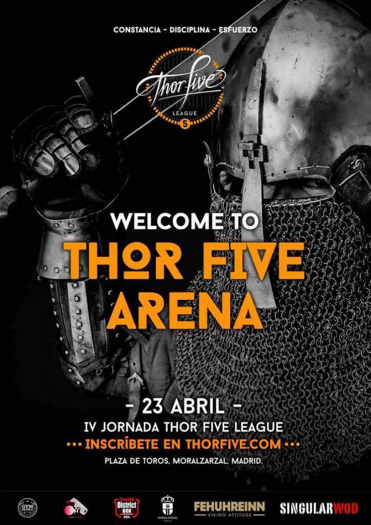 IV Jornada Thor Five League - Un buen día en Madrid