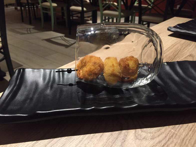 Croquetas de pollo de corral