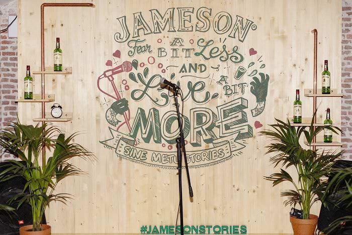 Jameson picnic micrófono