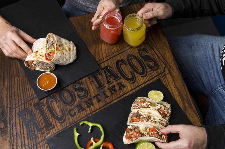 Ricos Tacos Deliveroo