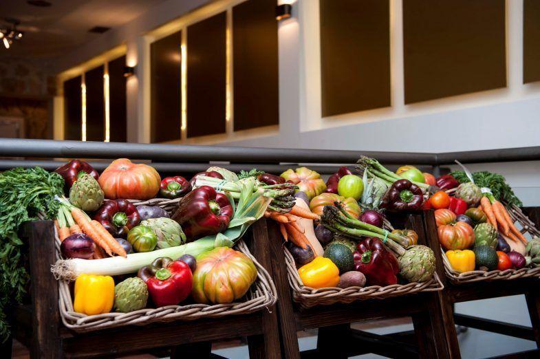 Restaurante Zarracacin verduras