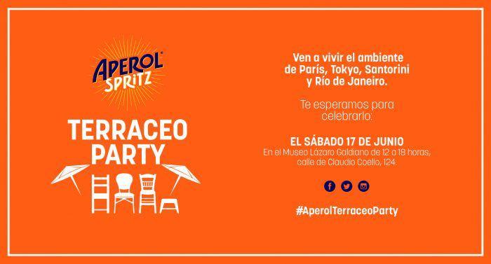 Invitación fiesta Aperol Spritz