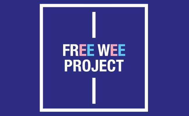 Este es el logo de la exposición Free Wee Project.