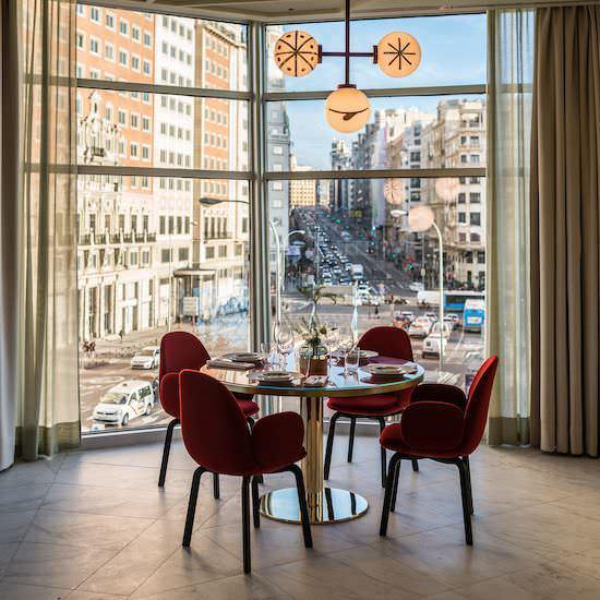 Restaurante Somos en Hotel Barcelo Torre de Madrid