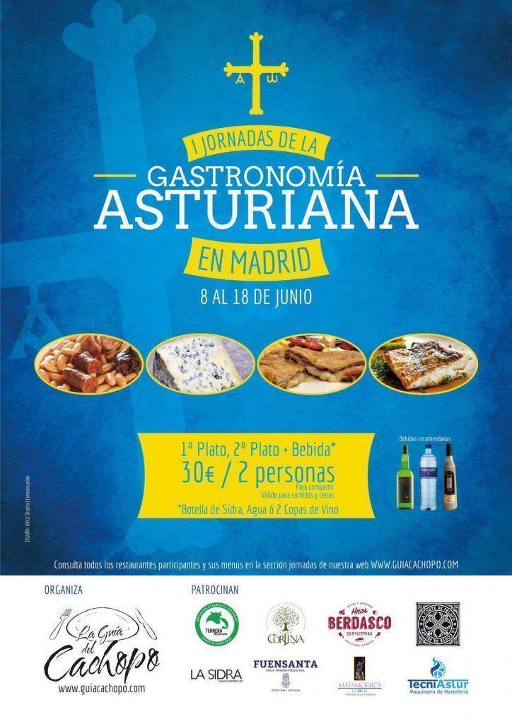 I Jornada de la Gastronomía Asturiana en Madrid - Un buen día en Madrid