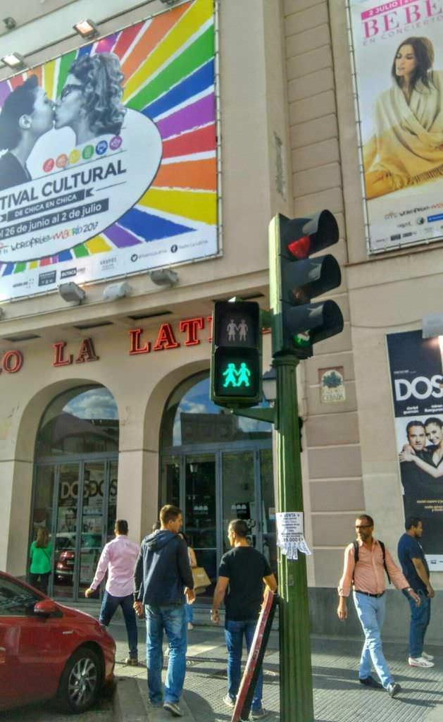 El Orgullo Gay en fotos - Un buen día en Madrid