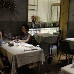 Interior del restaurante La Raquetista