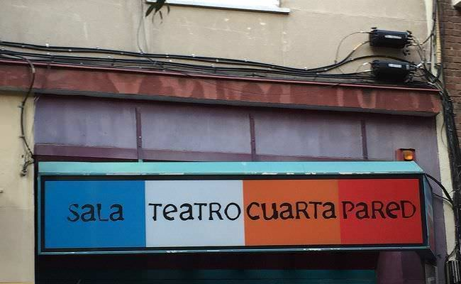 La Sala Cuarta Pared es también escuela de teatro, además de lugar donde se proyectan obras de diversos grupos teatrales.