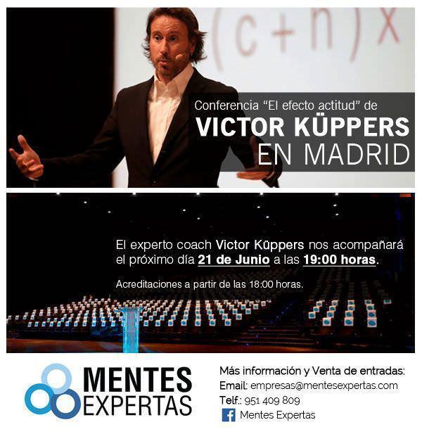 El Efecto Actitud de Victor Küppers - Un buen día en Madrid