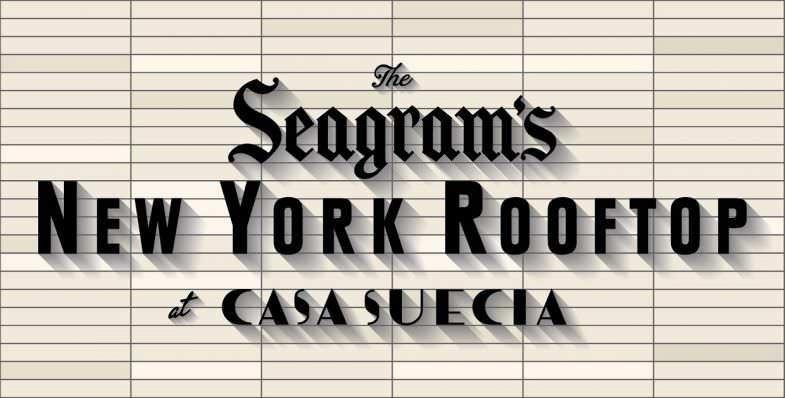 Seagram's NY Rooftop en Casa Suecia - Un buen día en Madrid