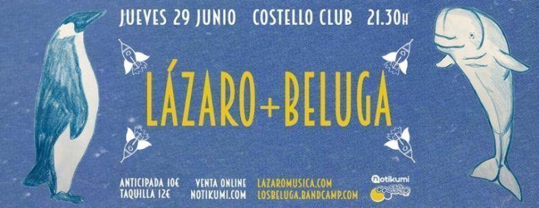 Lázaro y Beluga en Madrid