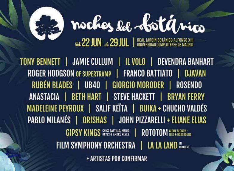 Festival Noches Del Botánico