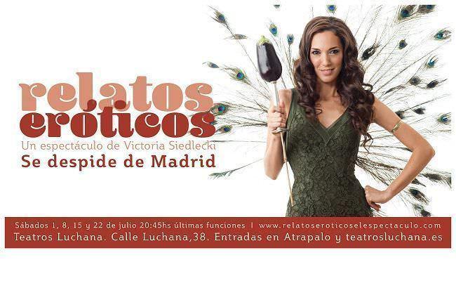 Relatos Eróticos se despide de la cartelera de Madrid.