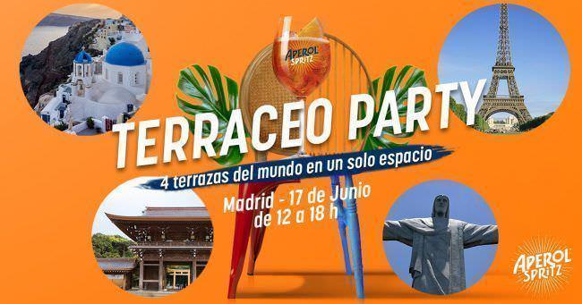 Terraceo Party de Aperol