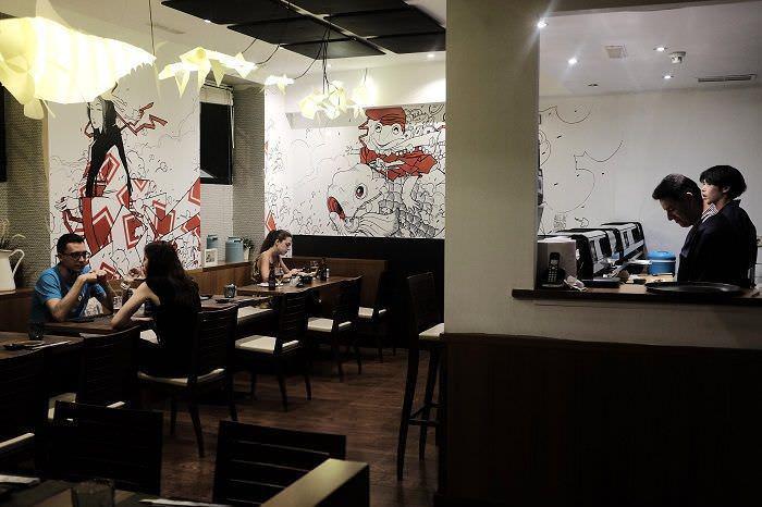 Interior del restaurante Ikigai