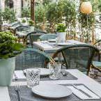 Detalle de la mesa La Vanduca