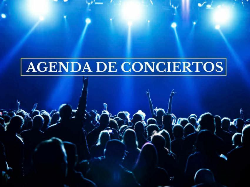 Agenda de conciertos del 25 de junio al 1 de julio