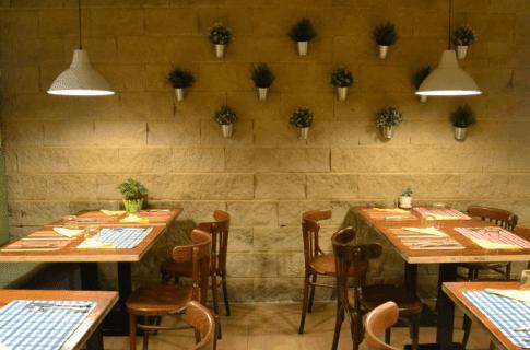 Salón de Reineta Vegetariano