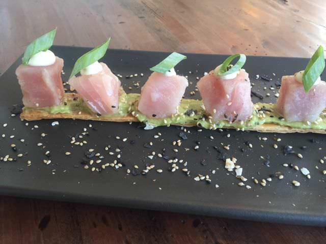 Tacos de atún con mayonesa Paipái