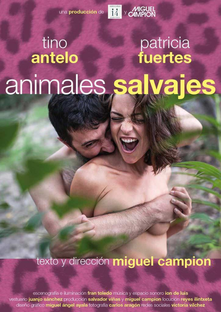 Cartel de Animales salvajes