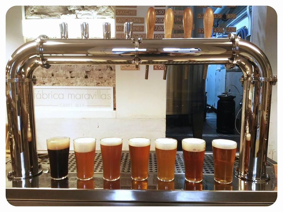 Fabricación cerveza maravillas