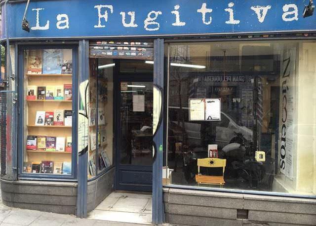 La fugitiva - Café librería