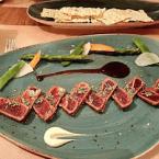Tataki de atún rojo salvaje de almadraba