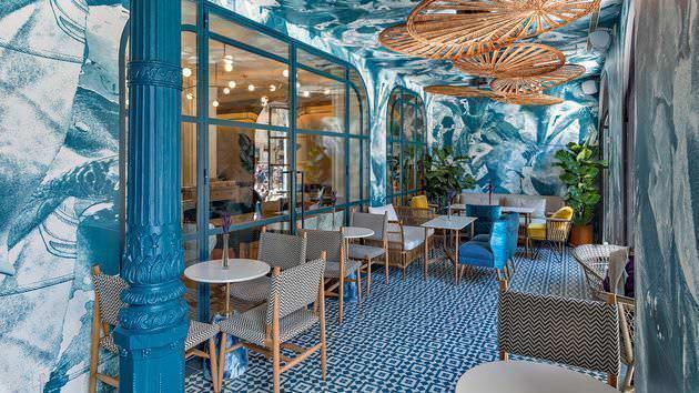 Terraza de restaurante Caramaba