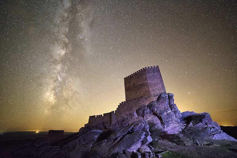 Firmamento en Castillo de Zafra Juego de Tronos