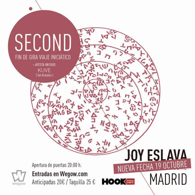 Nueva fecha de Second en Madrid
