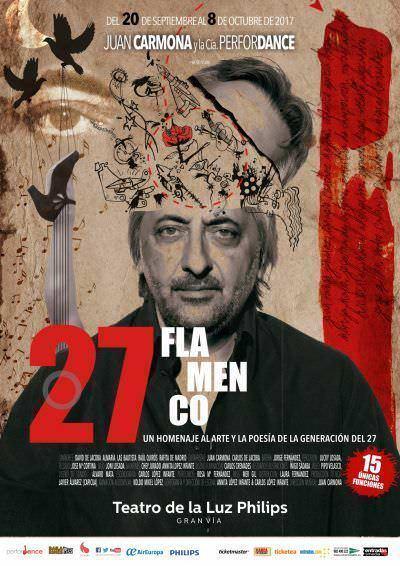 Cartel de 27 Flamenco