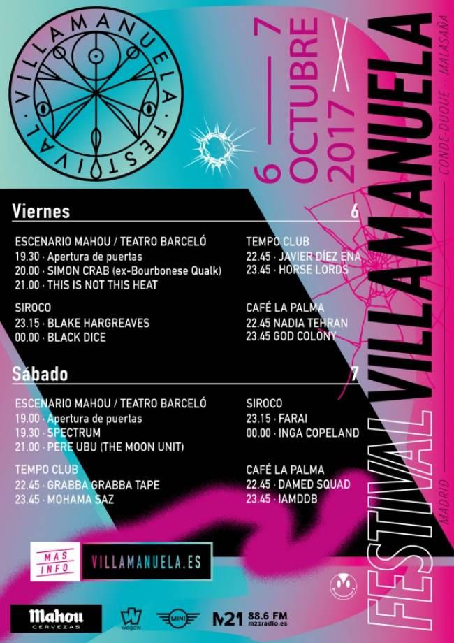 Horarios Villamanuela 2017