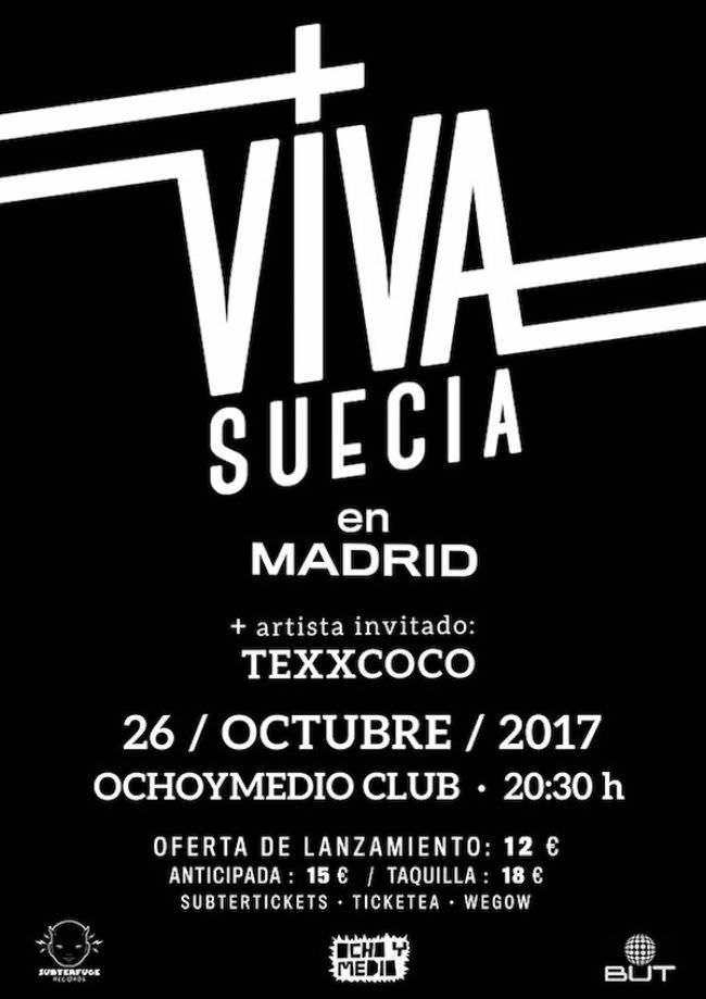 Viva Suecia vuelve a Madrid