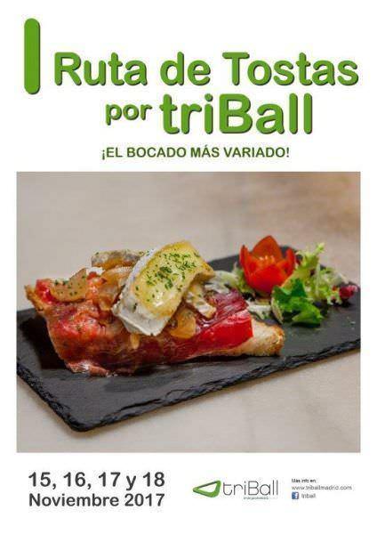 I Ruta de Tostas en Triball - Un buen día en Madrid