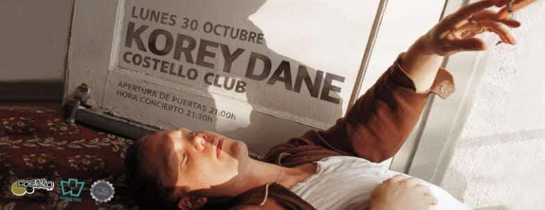 Korey Dane llega a Madrid