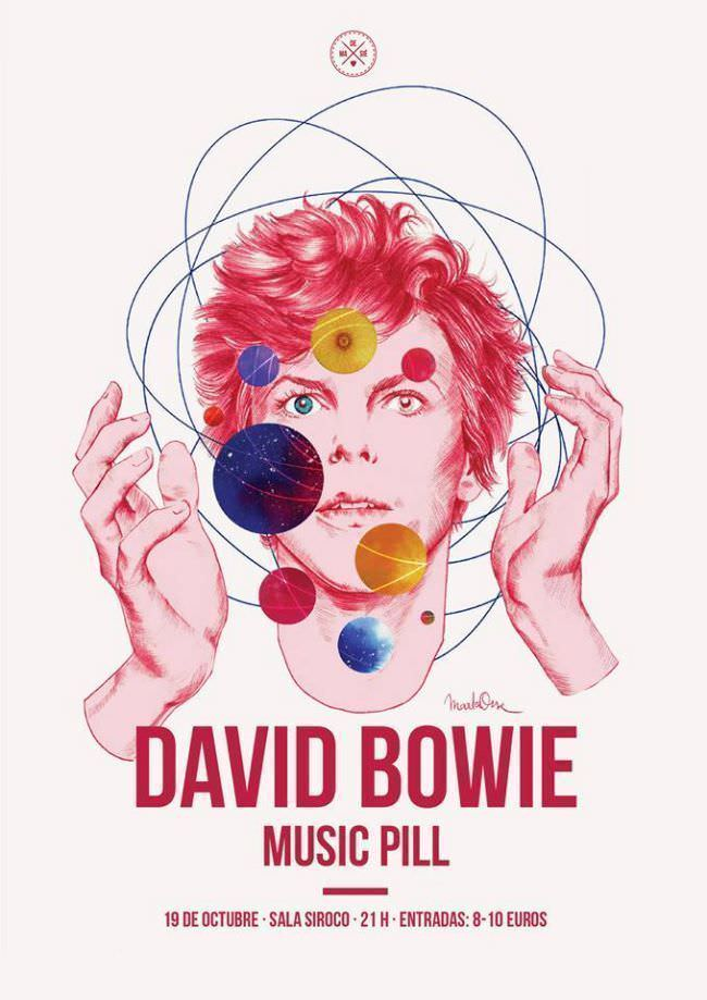 Music Pill David Bowie