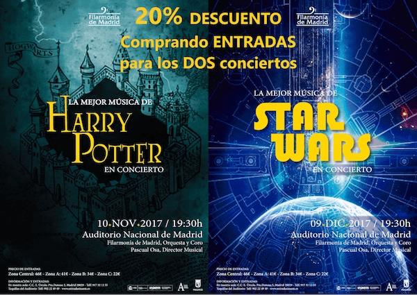 La mejor música de Harry Potter - Un buen día en Madrid