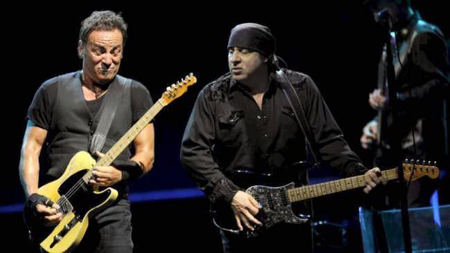 Little Steven con Bruce Springsteen