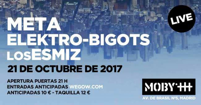 Concierto META en Madrid