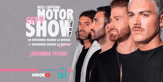 Miss Caffeina despide ¨Detroit¨con dos conciertos en Madrid