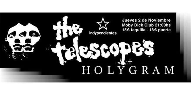 The Telescopes llegan a Madrid.