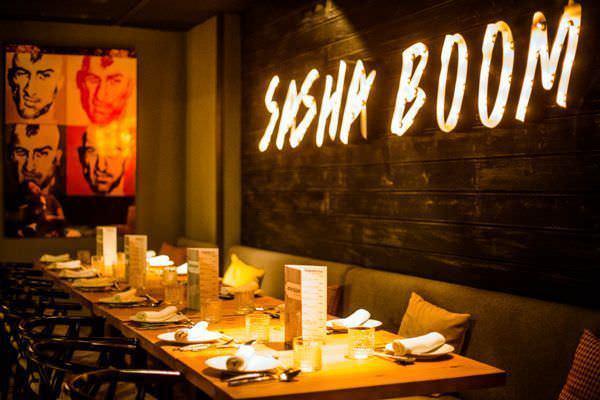Sasha Boom - Un buen día en Madrid