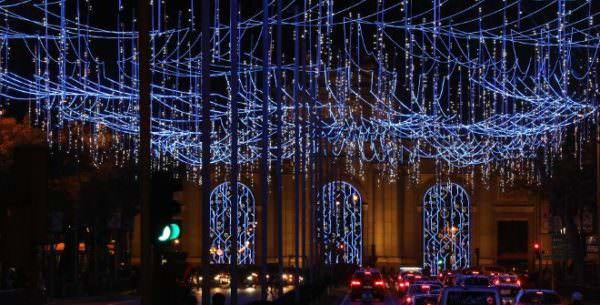 Luces de Navidad - Un buen día en Madrid