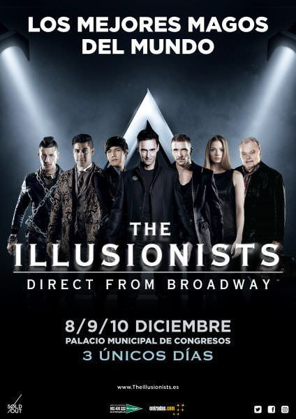The Illusionists: direct from Broadway - Un buen día en Madrid