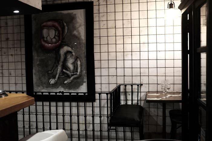 Interior del restaurante Jagger