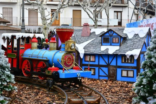 Tren de Navidad en Torrejón