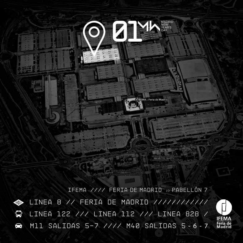 Mapa Ubicación 01 New Year´s Day