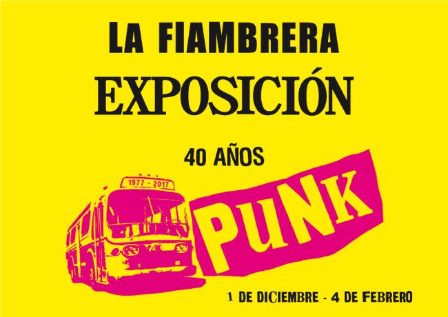 Exposición 40 años del Punk